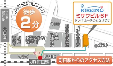 町田店の周辺マップ